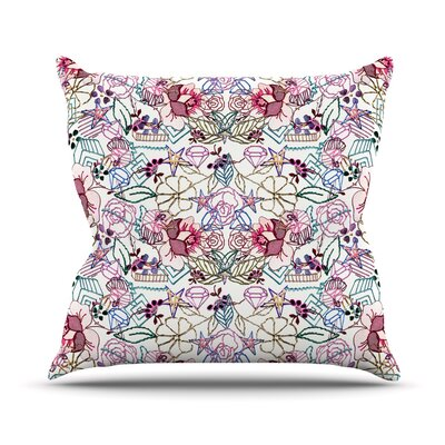 Cool Stitch by DLKG Design Throw Pillow Size: 18 H x 18 W x 3 D