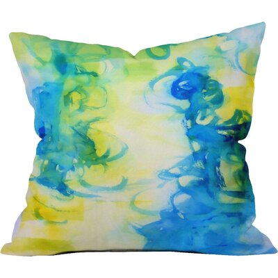 Be Inspired by Laura Trevey Indoor/Outdoor Throw Pillow Size: 16 H x 16 W x 4 D