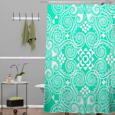 Decographic Shower Curtain