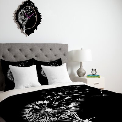 Budi Kwan Going Where The Wind Blows Duvet Cover Size: Queen, Fabric: Lightweight