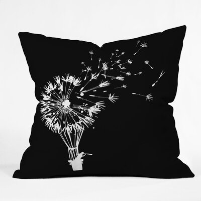 Budi Kwan Going Where The Wind Blows Throw Pillow Size: Large