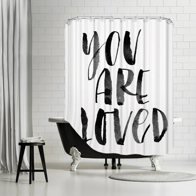 You Are Loved 2 Shower Curtain