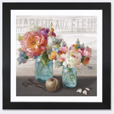 French Cottage Bouquet III Canvas Print LARK7529 32652054