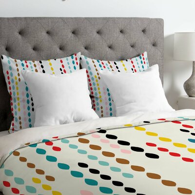 Lightweight Drops Duvet Cover Size: Twin