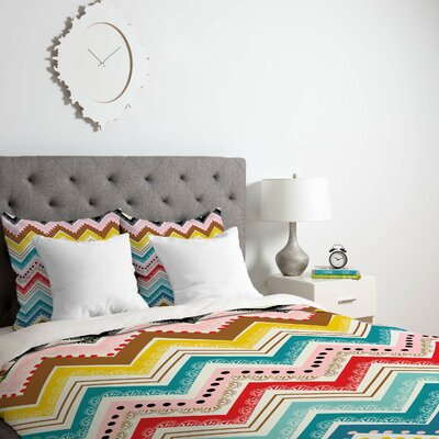 Lightweight Chevrons Duvet Cover Collection