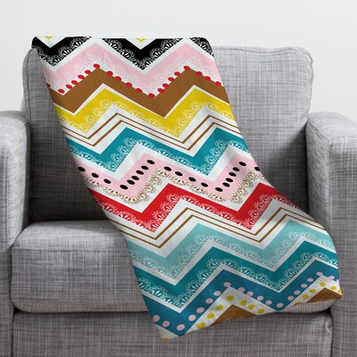 Chevrons Throw Blanket Size: Large