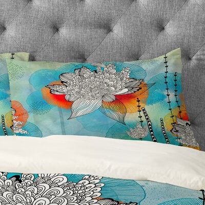 Coral Pillowcase Size: King
