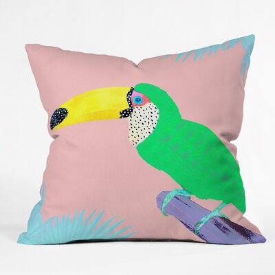 Kangarui Throw Pillow Size: 16 H x 16 W x 4 D