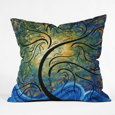 Madart Inc. Throw Pillow Size: 16 H x 16 W x 4 D