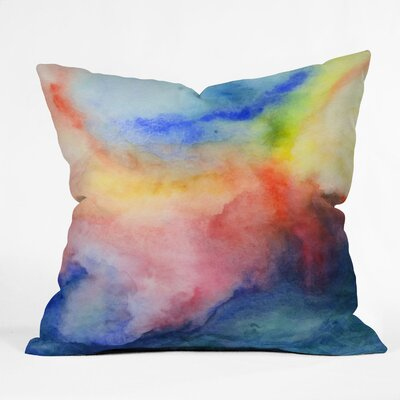 Jacqueline Maldonado Torrent 1 Throw Pillow Size: 16 x 16
