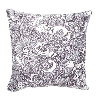 Valentina Ramos Doodles Throw Pillow Size: 16 x 16