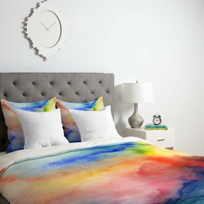 1 Duvet Cover Size: King, Fabric: Lightweight