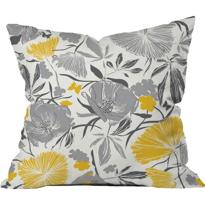 Bryant Park Indoor/Outdoor Throw Pillow Size: 16 W