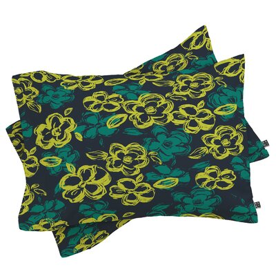 Russian Ballet Pillowcase Size: Standard, Color: Green