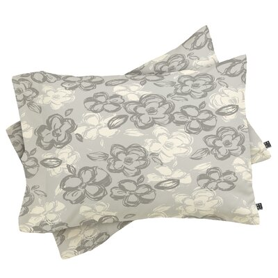 Russian Ballet Pillowcase Size: King, Color: Grey