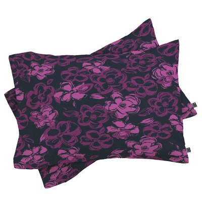 Russian Ballet Pillowcase Size: King, Color: Purple