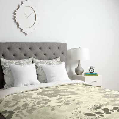 Provencal 1 Duvet Cover Size: Twin, Fabric: Lightweight