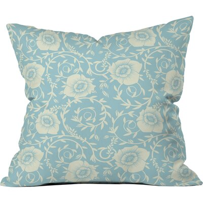 Floral Morning Polyester Throw Pillow Size: 26 H x 26 W x 7 D