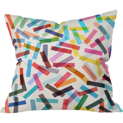 Garima Dhawan Outdoor Throw Pillow Size: 16 H x 16 W x 4 D