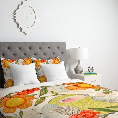 Fine Companions Duvet Cover Size: Twin, Fabric: Lightweight