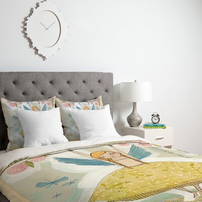 Make A Little Memory Duvet Cover Size: Twin, Fabric: Lightweight