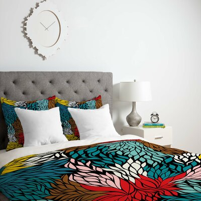 Nolita Cover Duvet Cover Size: King, Fabric: Lightweight