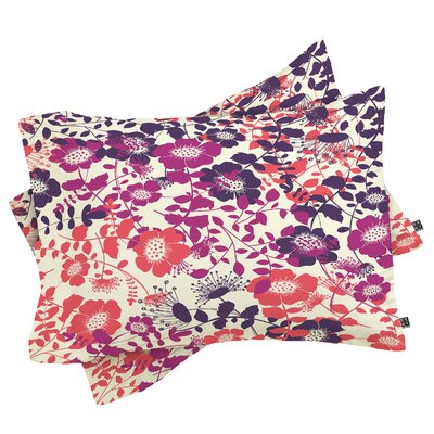 Provencal Pillow Case Size: Standard