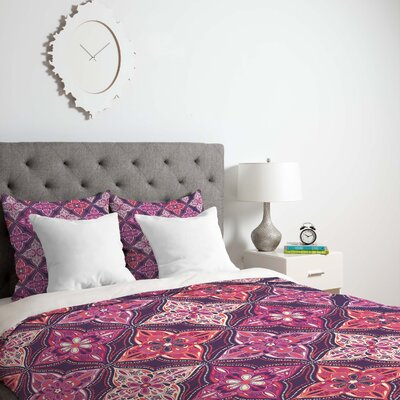 Provencal Lavender 5 Duvet Cover Size: King, Fabric: Lightweight
