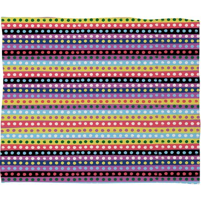 Khristian A Howell Valencia 4 Throw Blanket Size: Small