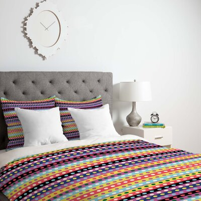 Valencia 4 Duvet Cover Size: Queen, Fabric: Lightweight