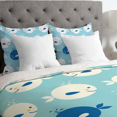 Khristian A Howell Lightweight Baby Beach Bum Duvet Cover Size: Twin