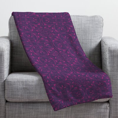 Provencal Lavender 1 Throw Blanket Size: Medium