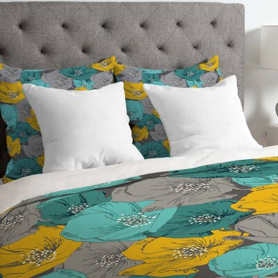 Lightweight Bryant Park Duvet Cover Size: Queen