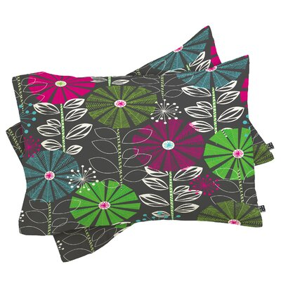 Cape Town Blooms Pillowcase Size: Standard
