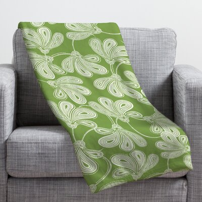 Provencal Thyme Throw Blanket Size: Large