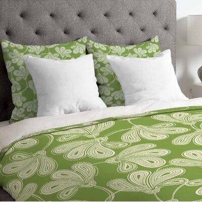 Lightweight Provencal Thyme Duvet Cover Size: Twin