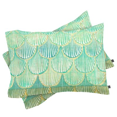 Scallops Pillowcase Size: Standard