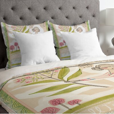 Lightweight Small Truths Duvet Cover Size: King
