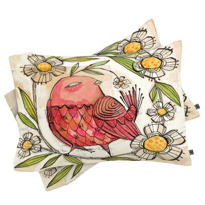 Cori Dantini Not A Turkey Pillowcase Size: Standard
