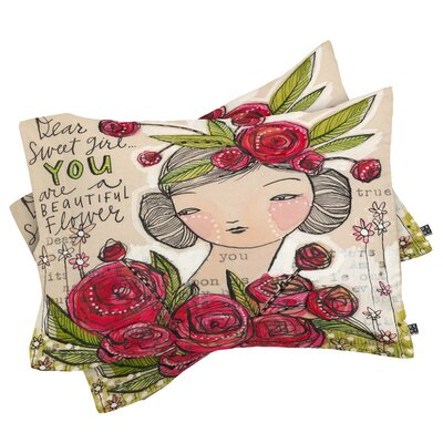 Cori Dantini Dear Sweet Pillowcase Size: King