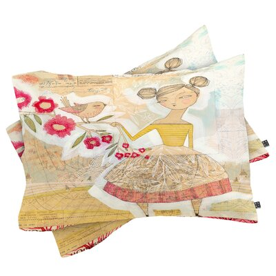 Cori Dantini The Secret To Happiness Pillowcase Size: Standard