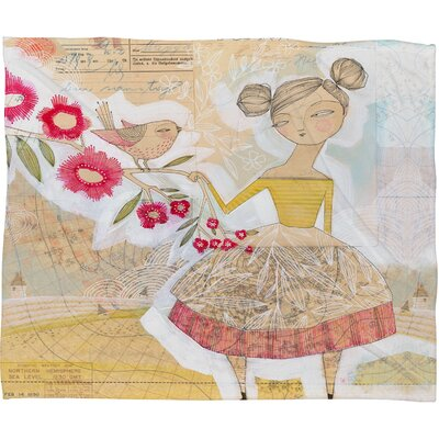 Cori Dantini The Secret To Happiness Throw Blanket Size: Large