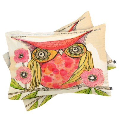 Miss Goldie Pillowcase Size: Standard