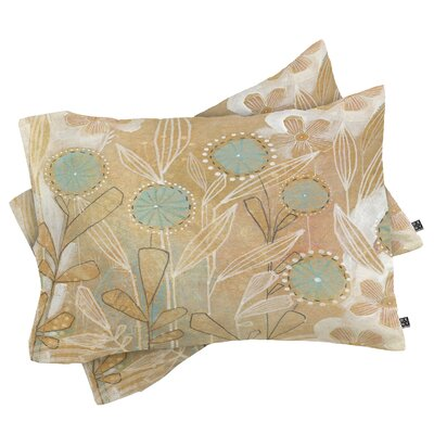 Floral Pillowcase Size: King
