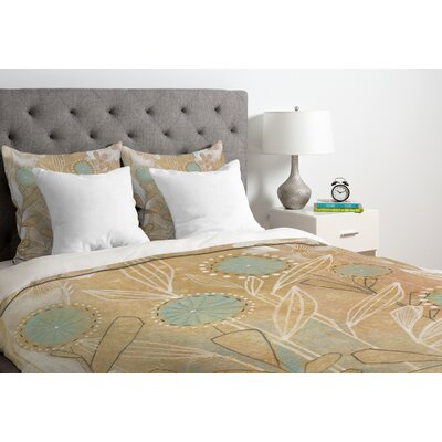 Floral Duvet Cover Size: Queen, Fabric: Lightweight