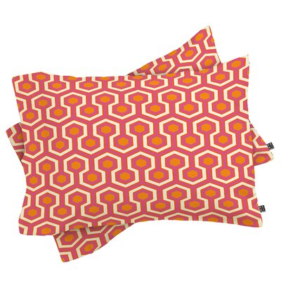 Caroline Okun Pillowcase Size: Standard, Color: Zest