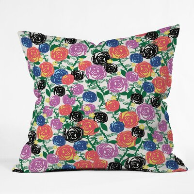 Valencia 5 Throw Pillow Size: 16 x 16