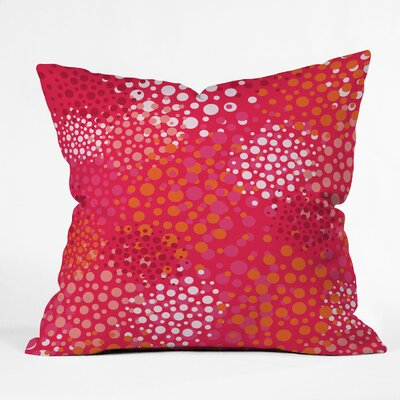 Brady Dots 2 Throw Pillow Size: 18 x 18