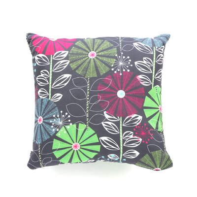 Cape Town Blooms Throw Pillow Size: 18 x 18