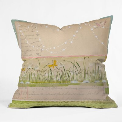 Horizontal Indoor Throw Pillow Size: 18 x 18